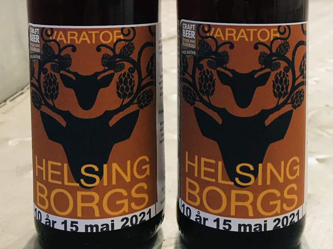 Vår Jubileumsöl – Helsingborgs Varator